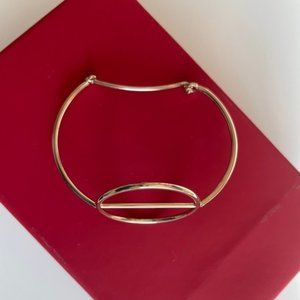 Brand new &other stories hoop bracelet in gold